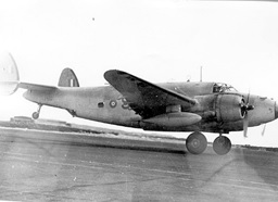 Ventura Bomber – type flown at Dartmouth NS Venturas from 145 BR Squadron flew Harbour Entrance Patrols off the Halifax harbour [36] DND Historic photograph, Lockheed Ventura