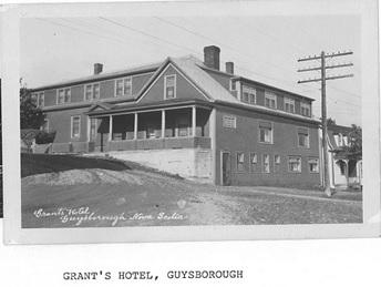 Grant's Hotel, Guysborough, NS
