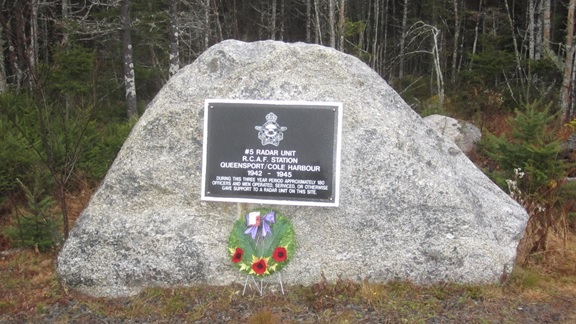 No 5 Radar Unit Memorial Plaque.