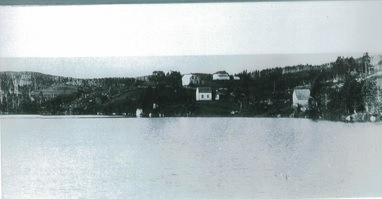 Photograph archives of Leslie Ryter with permission – Taken from Halfway Cove Bridge Circa 1927